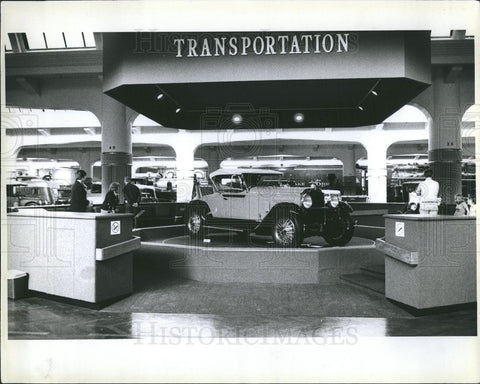 1978 Press Photo Henry Ford Museum Americana Dearborn