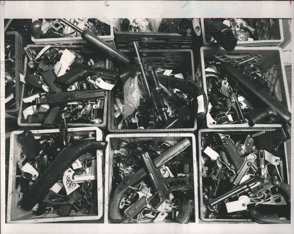 1994 Press Photo New Vault for Drugs & Guns - Historic Images