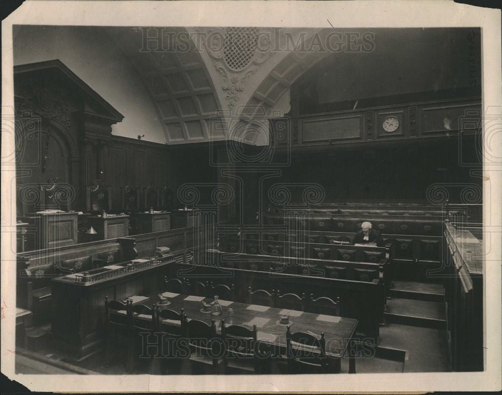 1919 Press Photo LONDON CENTRAL CRIMINAL COURT - Historic Images