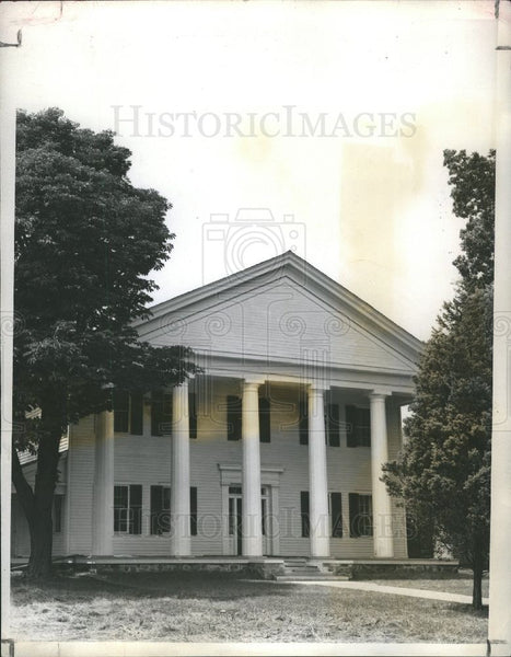 1941 Press Photo The Historic old Dexter Mansion - Historic Images