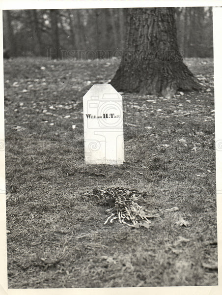 1931 LAST RESTING PLACE OF FORMER PRESIDEN - Historic Images
