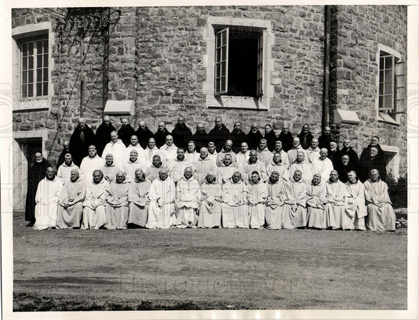 1936 monk Sistercian Sumberland Lady Valley - Historic Images