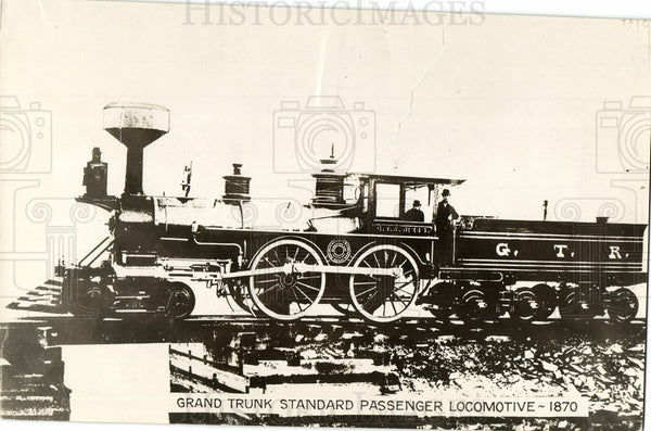 1931 GRAND TRUNK STANDARD PASSENGER LOCO - Historic Images