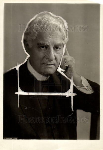 1926 David Belasco Dean of American Theatre - Historic Images