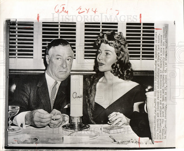 Image result for george jessel and rita hayworth