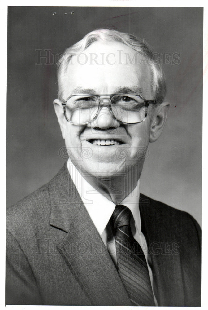 1983 Press Photo John P. Heil R.L. Polk & Co VP & GM - Historic Images