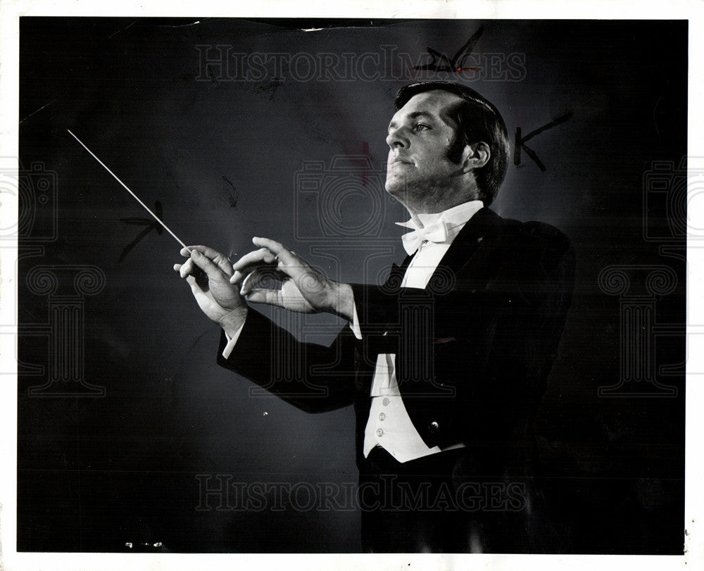 1972 Press Photo Pierre Hetu young associate Conductor - Historic Images
