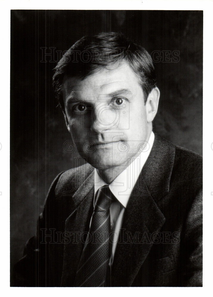 1990 Press Photo Curtis A. Hesller Unisys Corporation - Historic Images