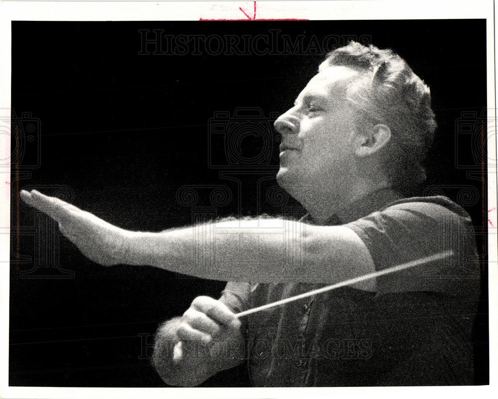 1984 Press Photo Gunther Herbig Music director - Historic Images
