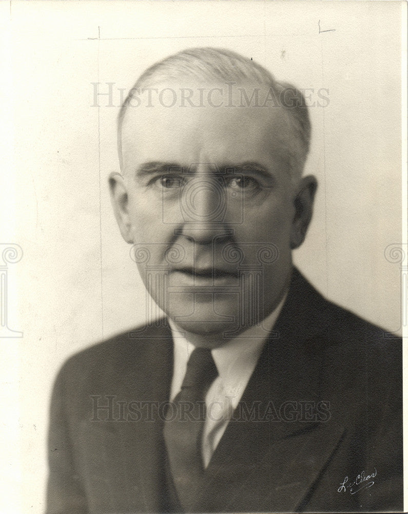 Press Photo George Higgins - Historic Images