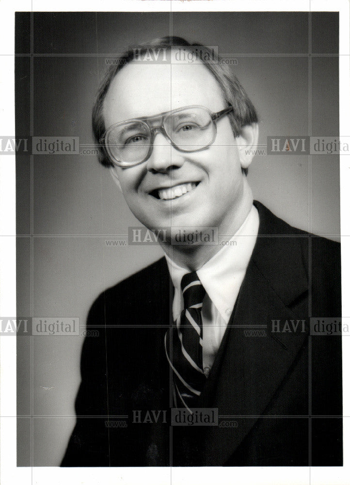 1979 Press Photo Willis Hicks Auditor - Historic Images