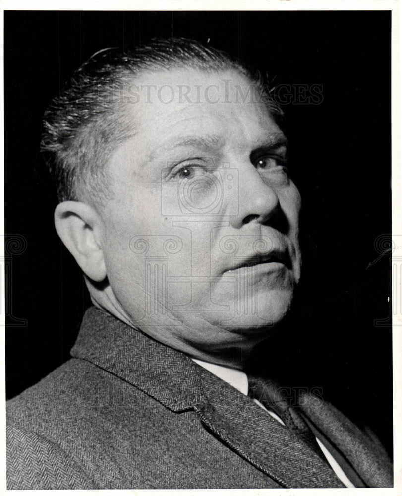 1962 Press Photo James R. Hoffa Labor Union Leader - Historic Images