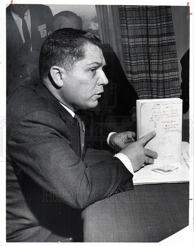 Press Photo James R. Hoffa - Historic Images