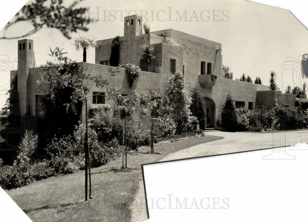 1929 Press Photo President Herbert Hoover House - Historic Images
