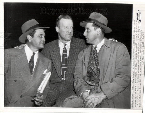 1946 Press Photo Gus Mancusco Willis Hudlin John Rizzo - Historic Images