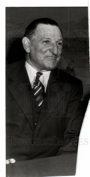1943 Press Photo John Hans Lobert MLB Manager Philadelp - Historic Images