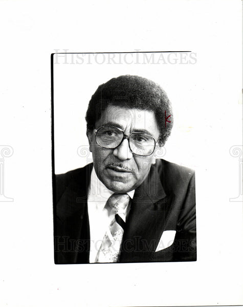 1980 Press Photo Lowery American civil rights leader - Historic Images