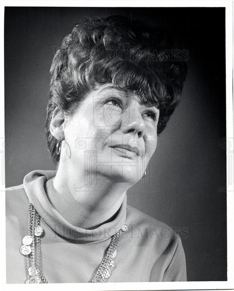 1969 Press Photo Jane Lowe Actress - Historic Images