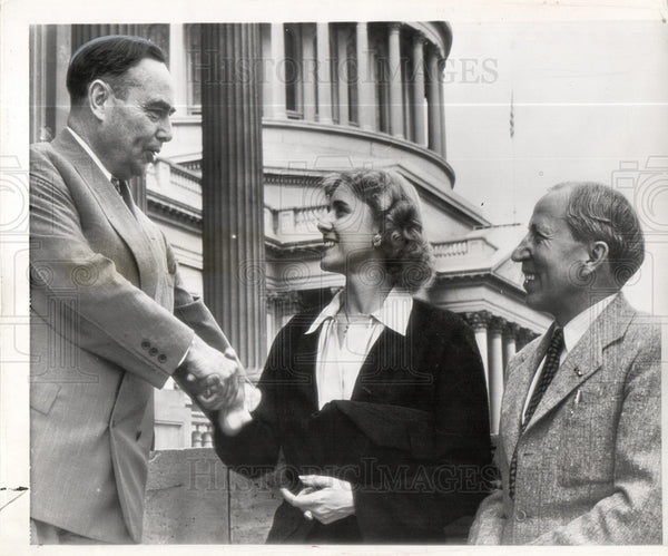 1946 Press Photo Clare Boothe Luce Connecticut Politics - Historic Images