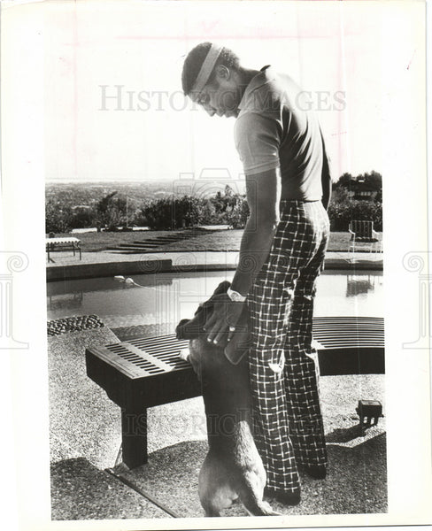 Press Photo Willie McCovey Major League Baseball - Historic Images