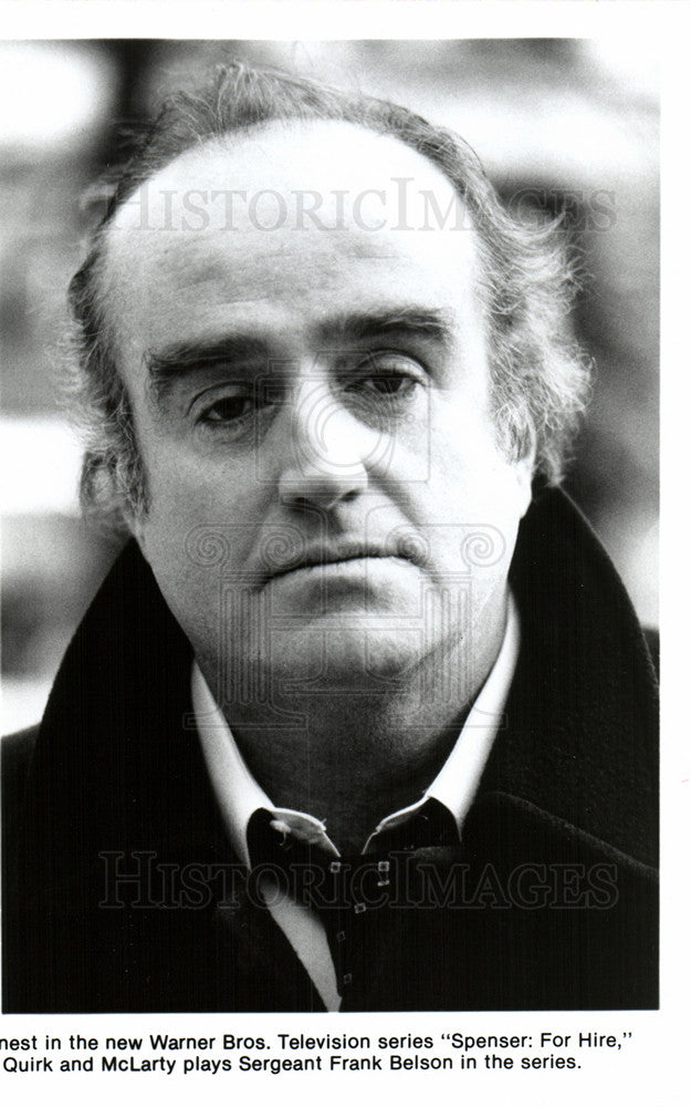 "Press Photo Ron McLarty, ""Spenser: For Hire"", TV - Historic Images"