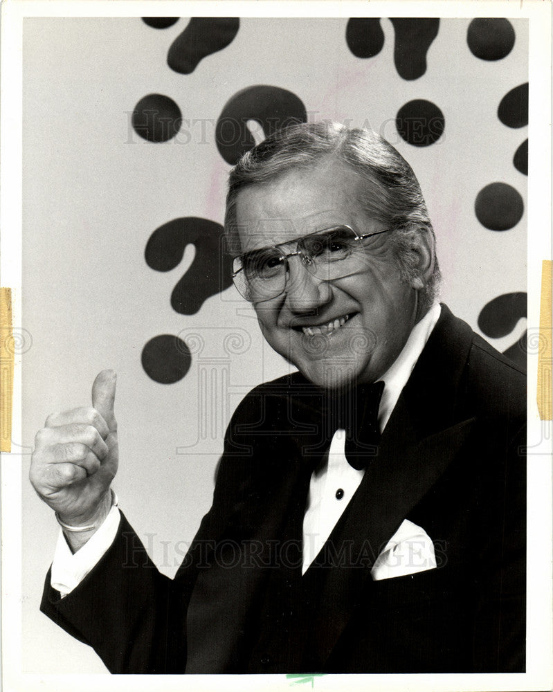 1987 Press Photo Ed McMahon sweepstakes subscriptions