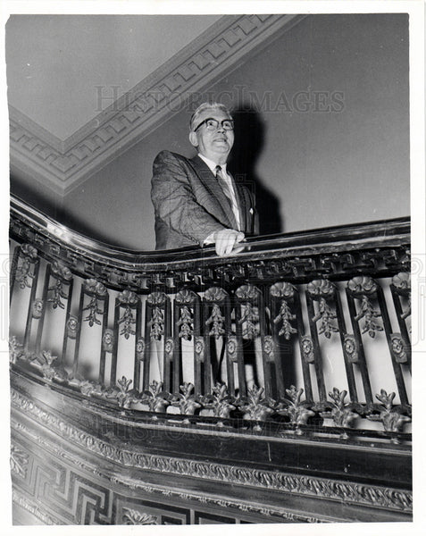 Press Photo Patrick McNamara Michigan Senator - Historic Images