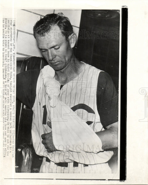 1959 Press Photo Roy McMillan Shortstop Coach Manager - Historic Images