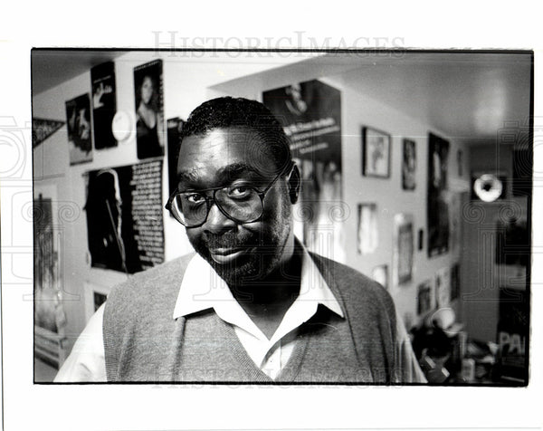 Press Photo Maurice Gordon, Detroit - Historic Images