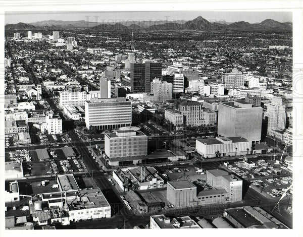 Press Photo Phoenix Arizona city USA - Historic Images