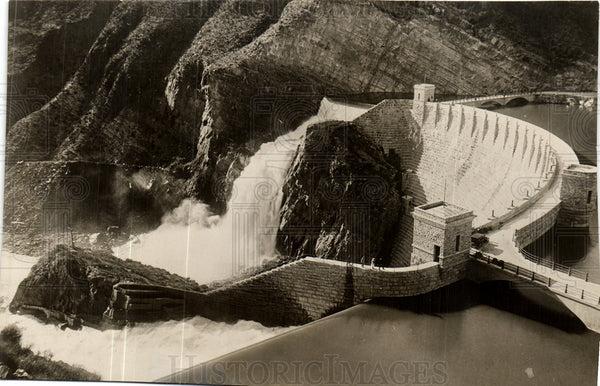 1929 Press Photo Roosevelt Dam - Historic Images