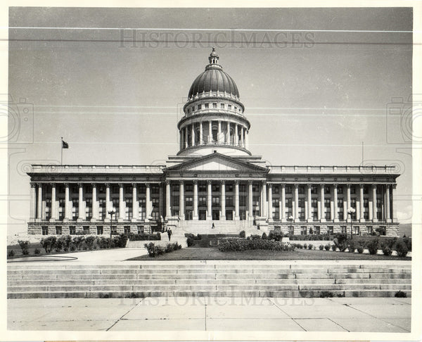 1930 Press Photo Salt Lake City state capitol building - Historic Images