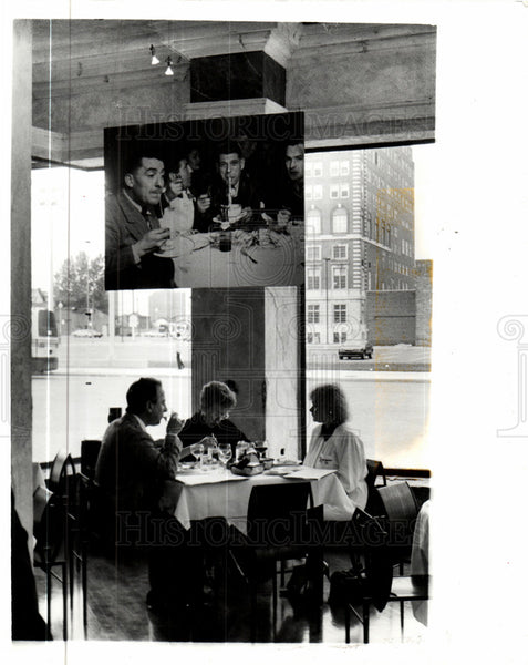 1930 Press Photo Tres Vite Detroit Restaurant - Historic Images
