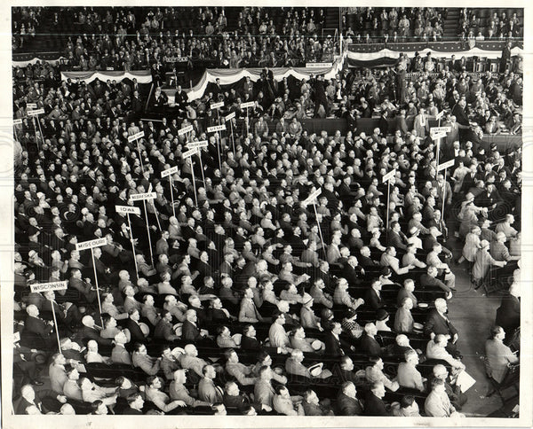 1928 Press Photo Republican Convention 1928 - Historic Images