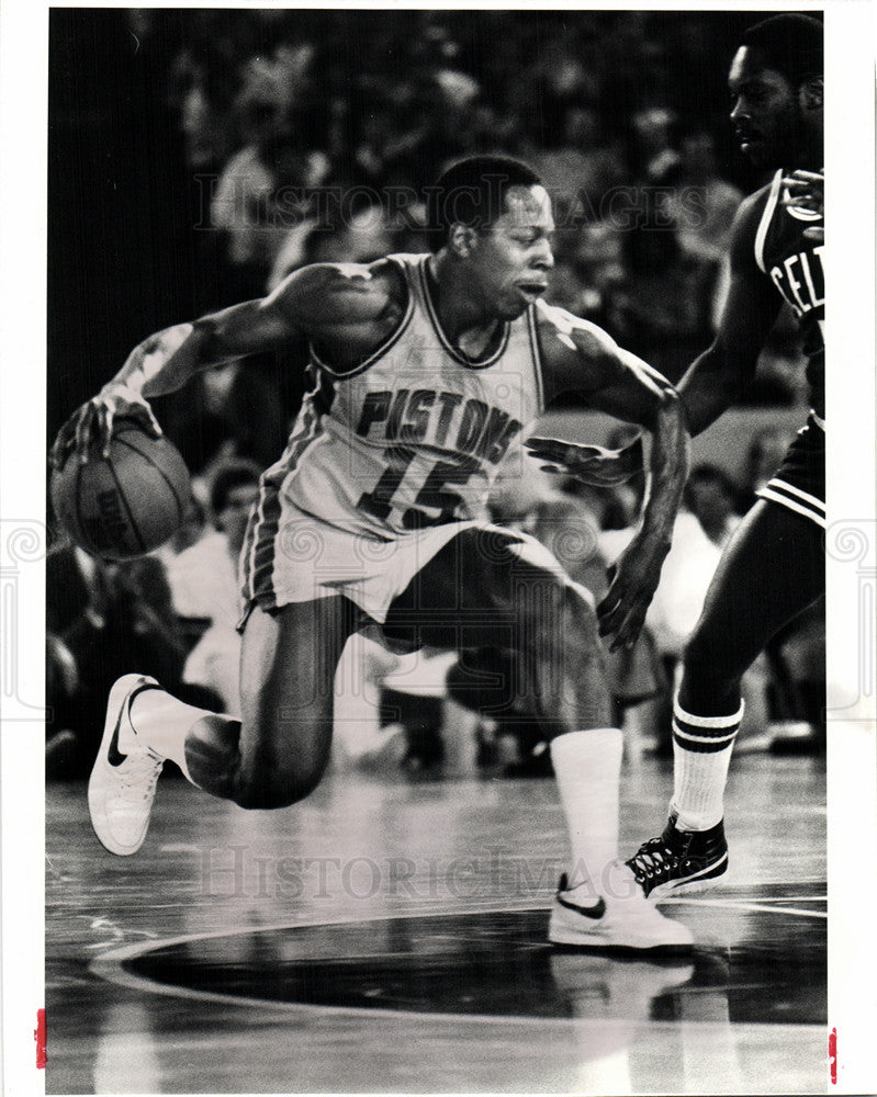 1983 Vinnie Johnson Pistons Celtics