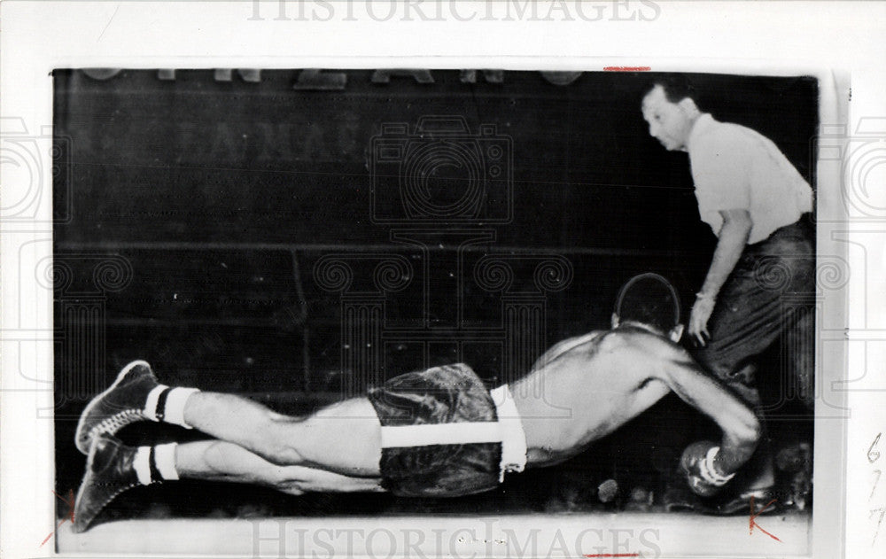 1958 Press Photo Don Jordan Welterweight Champion - Historic Images