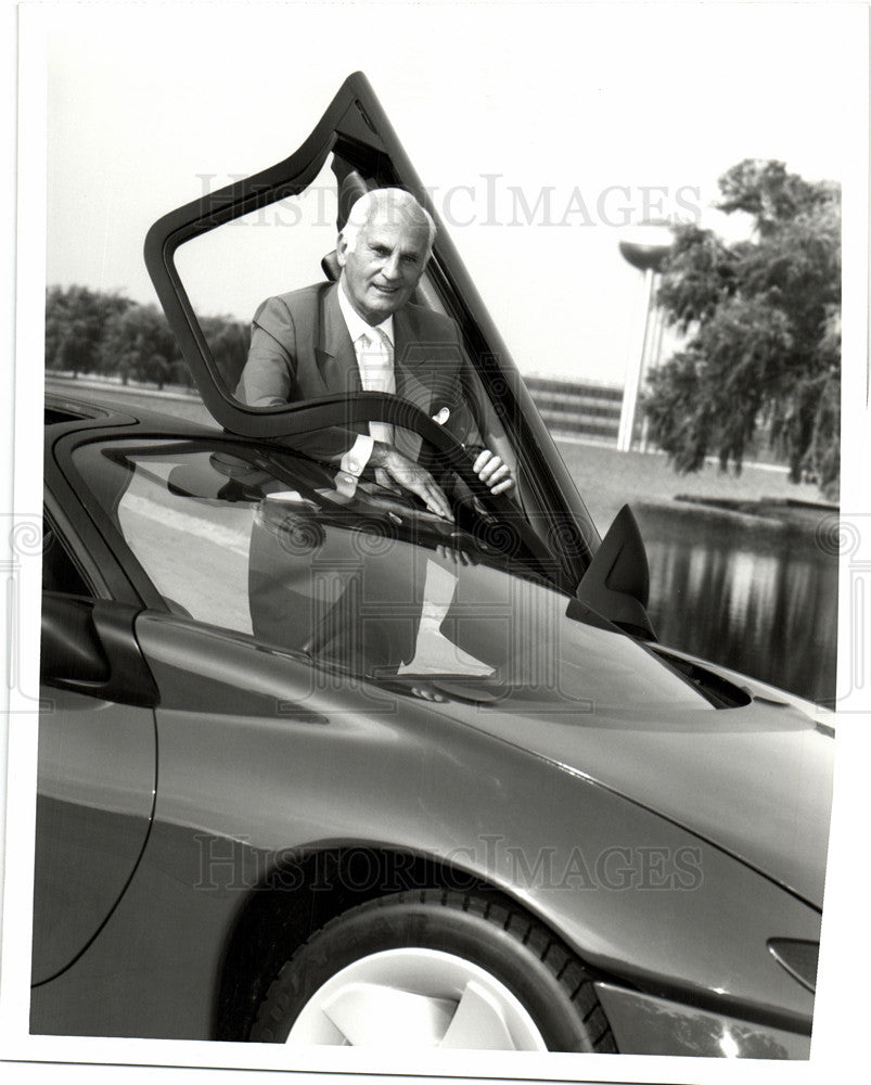 1992 Press Photo Charles M. Jorlin - Historic Images