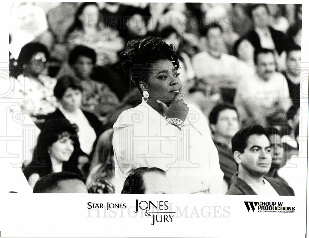 1994 Press Photo Star Jones, Jones and Jury - Historic Images