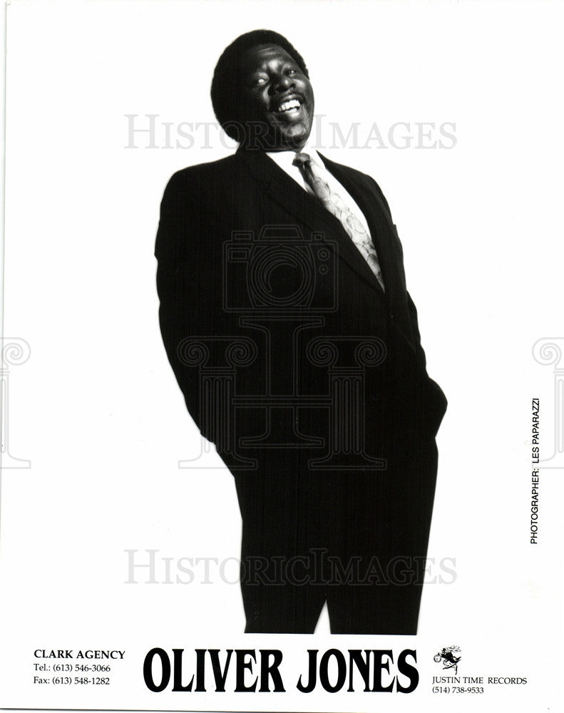 1994 Press Photo Oliver Jones jazz pianist. - Historic Images