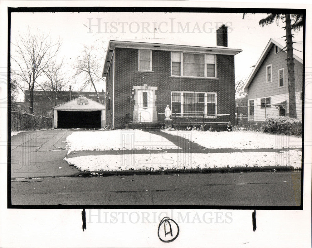 1989 Press Photo Harry Kalasho West Greendale Detroit - Historic Images