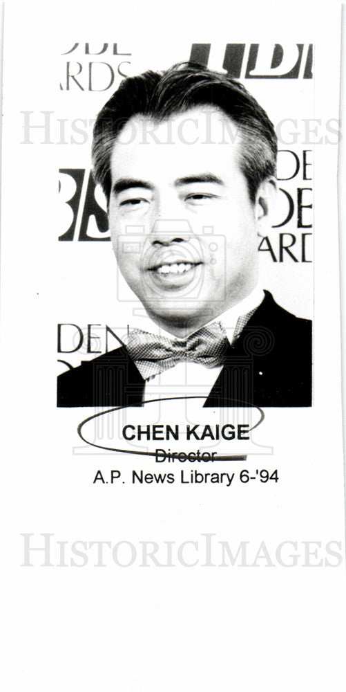 Press Photo Chen Kaige Director - Historic Images