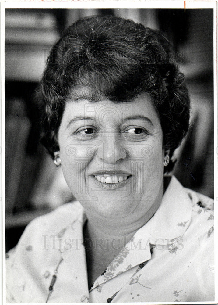 1980 Press Photo Eva Kahana Sociologist Gerontology - Historic Images