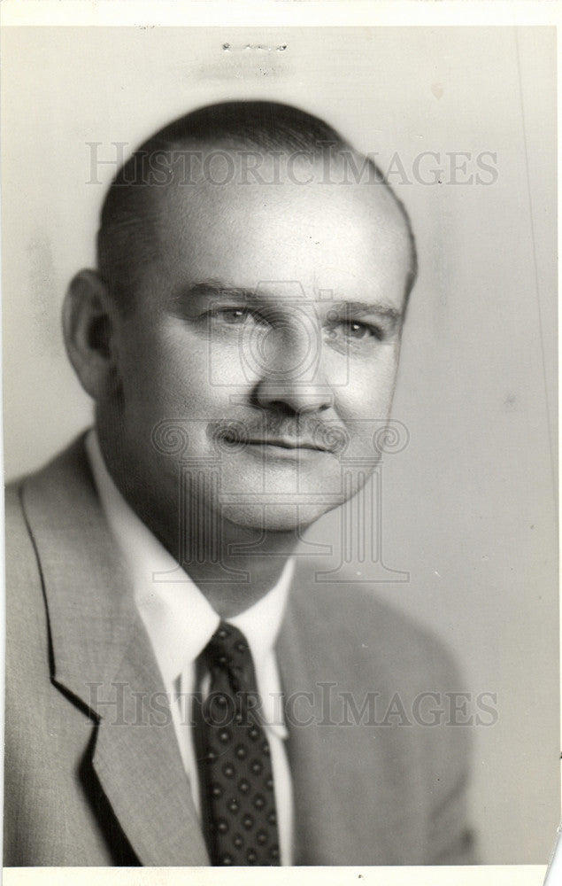 1960 Press Photo Frederick William Kaess  federal judge - Historic Images