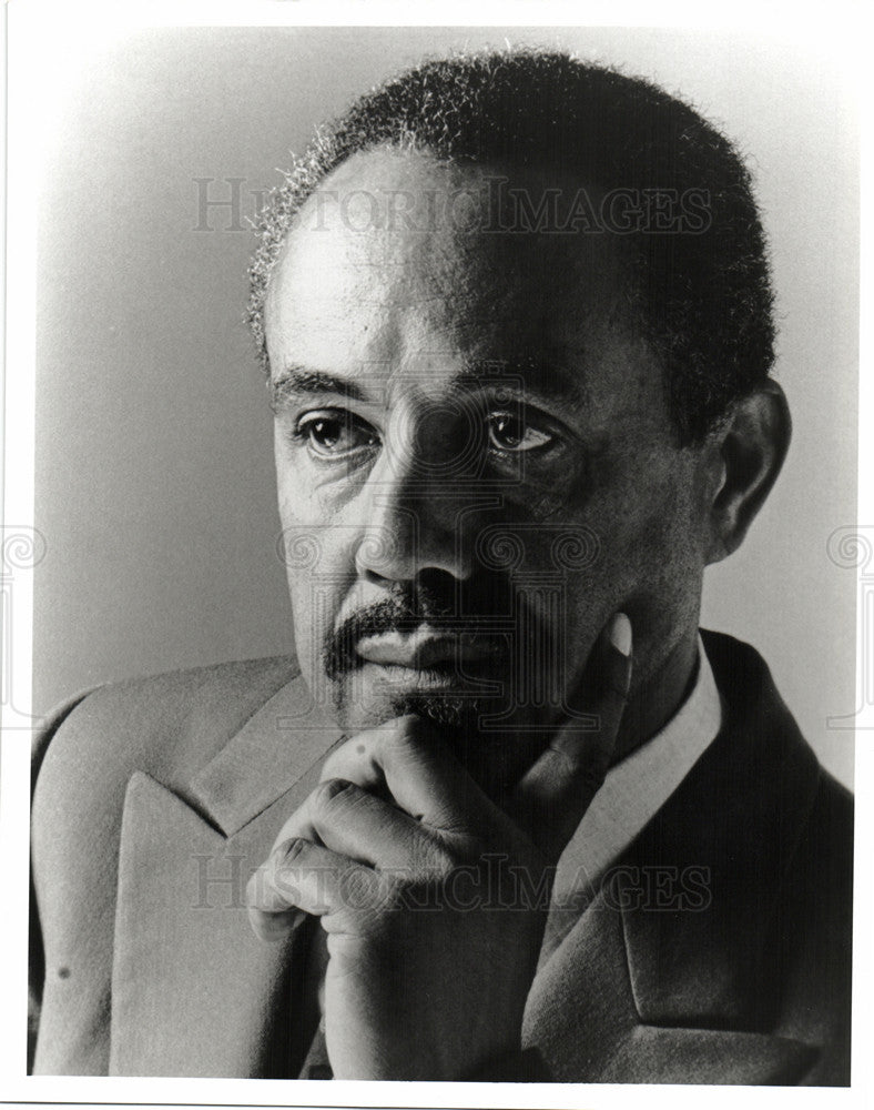 1996 Press Photo Felix Justice African American Actor - Historic Images