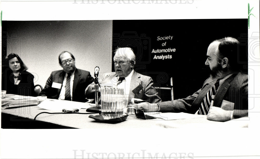 1986 Press Photo Arvid Jouppi SAA - Historic Images
