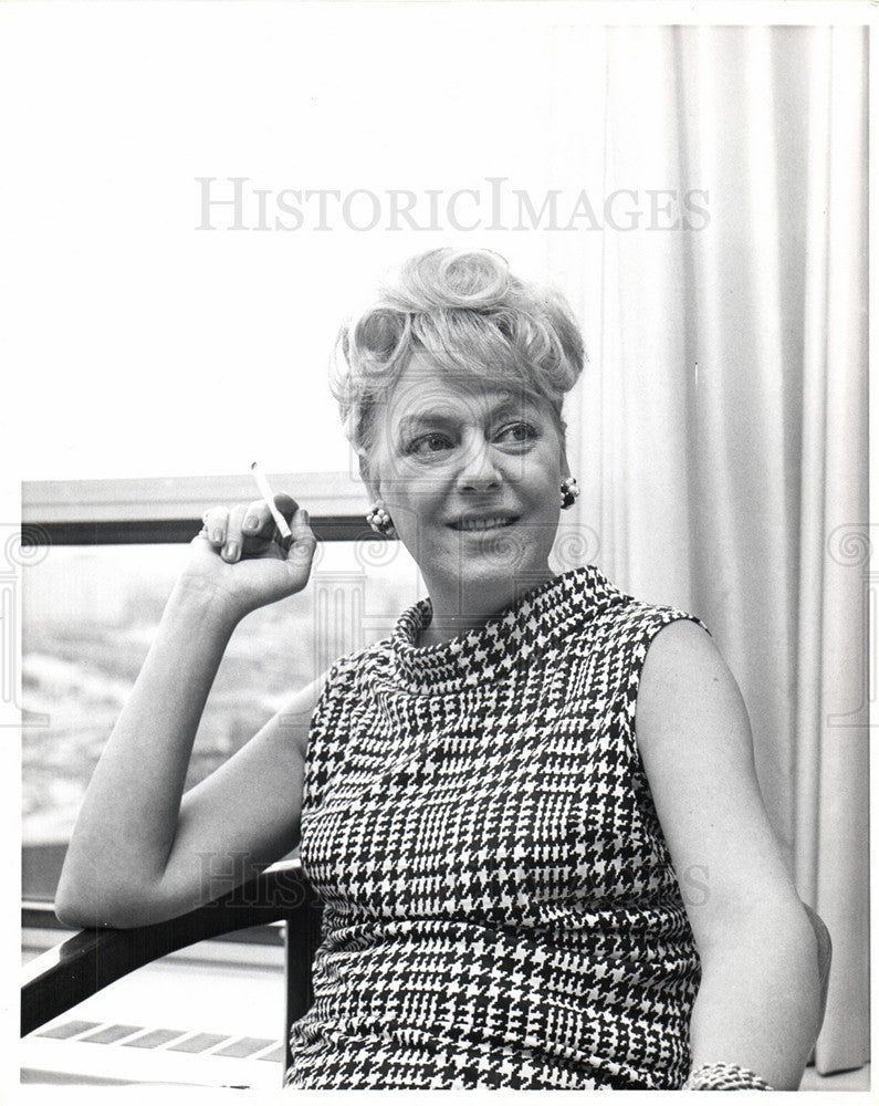 1967 Press Photo Christine Jorgensen Sex Reassignment - Historic Images