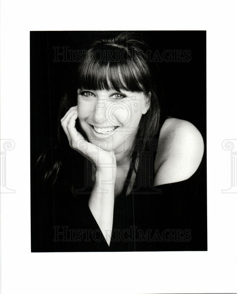 Press Photo Donna Karan designer - Historic Images