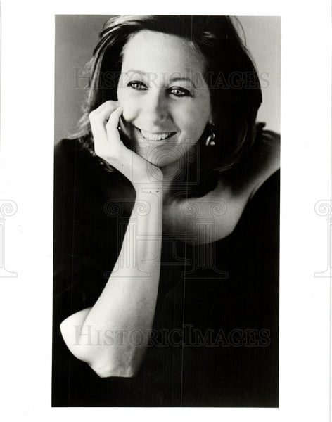 Press Photo Donna Karan American fashion designer - Historic Images