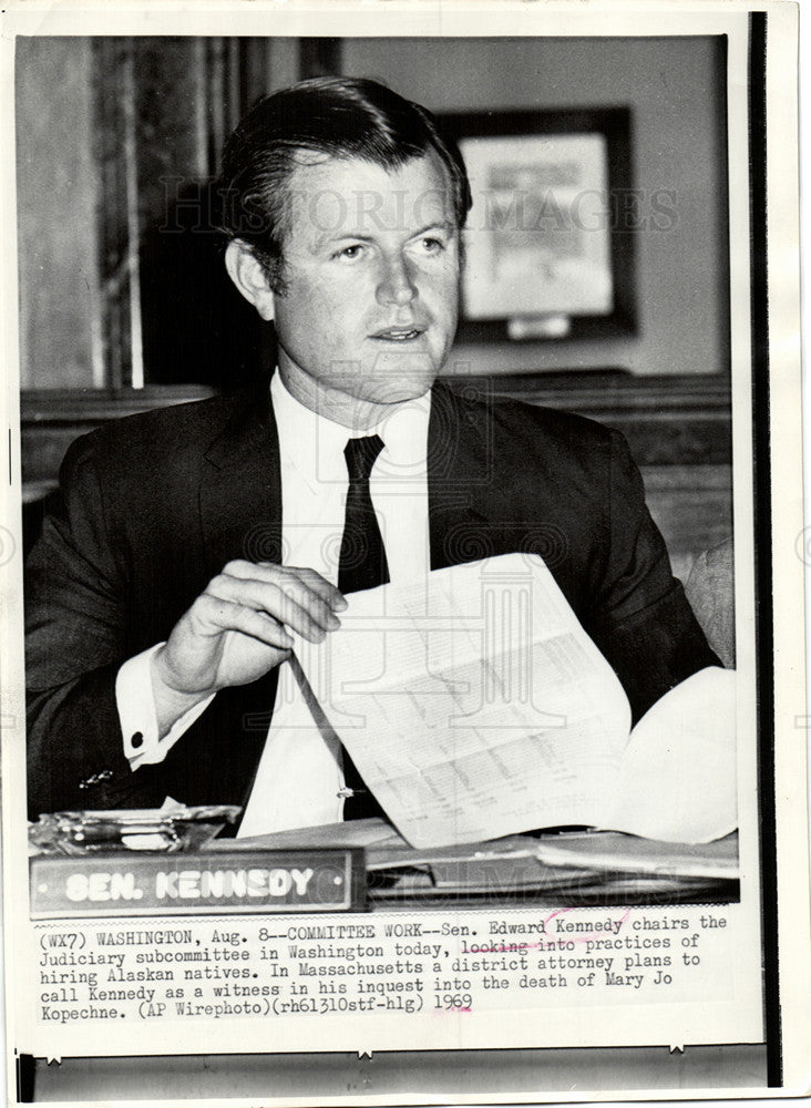 1969 mary jo kopechne ted kennedy historic images