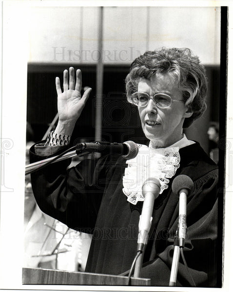 1978 Press Photo Judge Cornelia Kennedy Appeals court - Historic Images